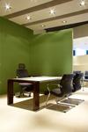 Farbe Wand Büro