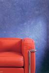 Farbe-Wand-Blau