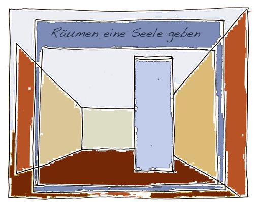 mit farben klarheit schaffen und eine seele in wohnr ume bringen. Black Bedroom Furniture Sets. Home Design Ideas