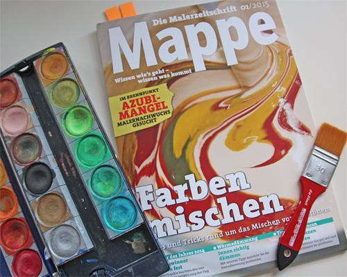 Mappe-Farben-Mischen