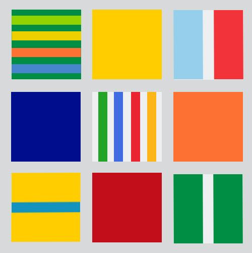 marke-Raum-Farben