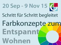 5 3 Wöchiges Online Seminar Mit Farben Entspannt Wohnen