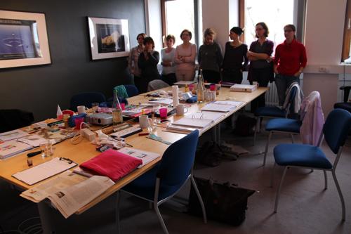 gruppe-Seminar-farbe