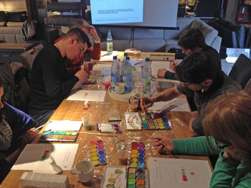 Weiterbildung farbberater im raum wohnberater m nchen for Raumgestaltung weiterbildung