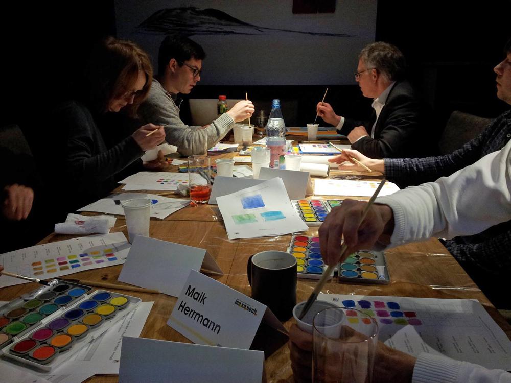 Weiterbildung farbgestaltung farbe im raum for Raum farbgestaltung