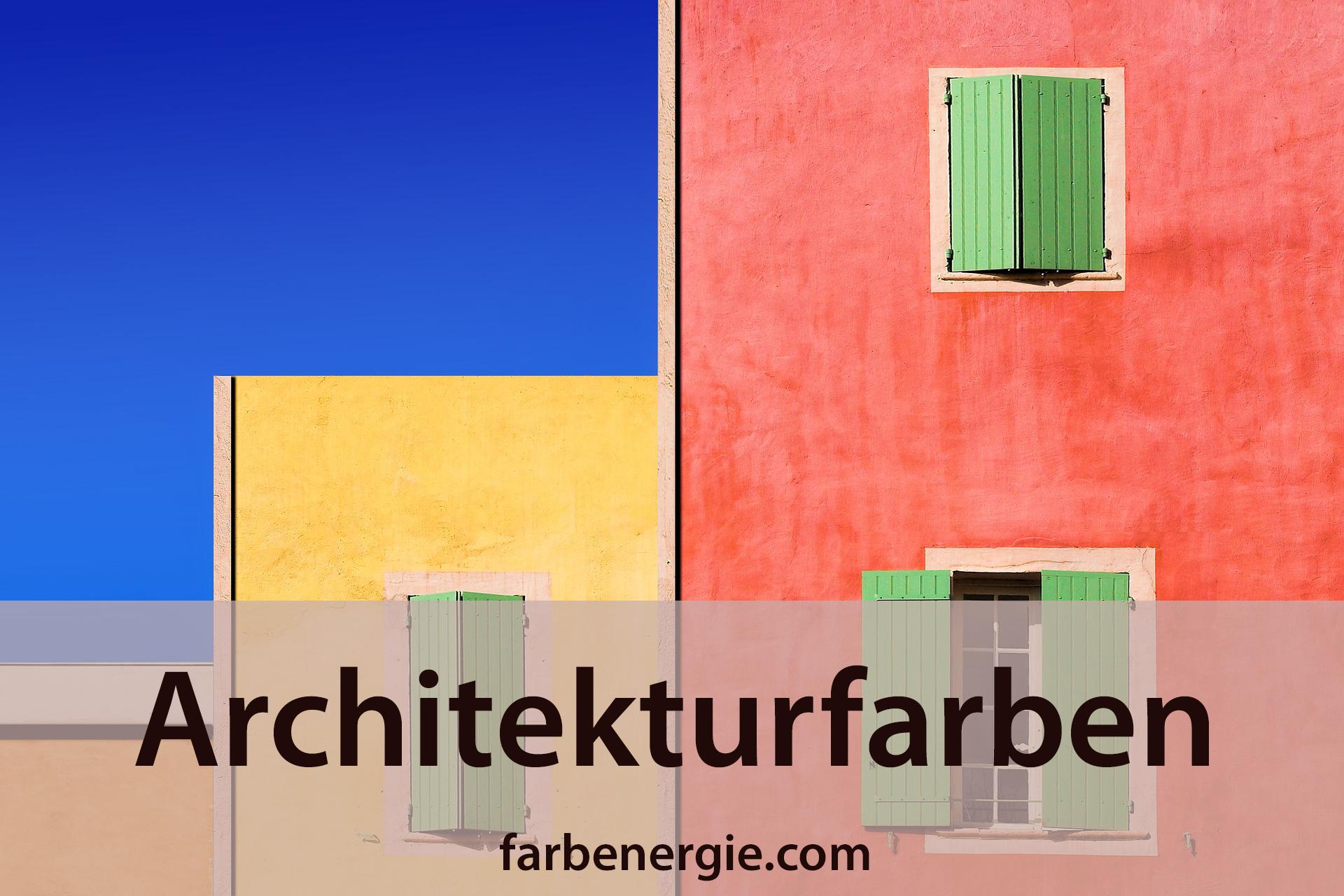 Farben Entwerfen Für Architektur Projekte 1: Architekturfarben-farben-architektur