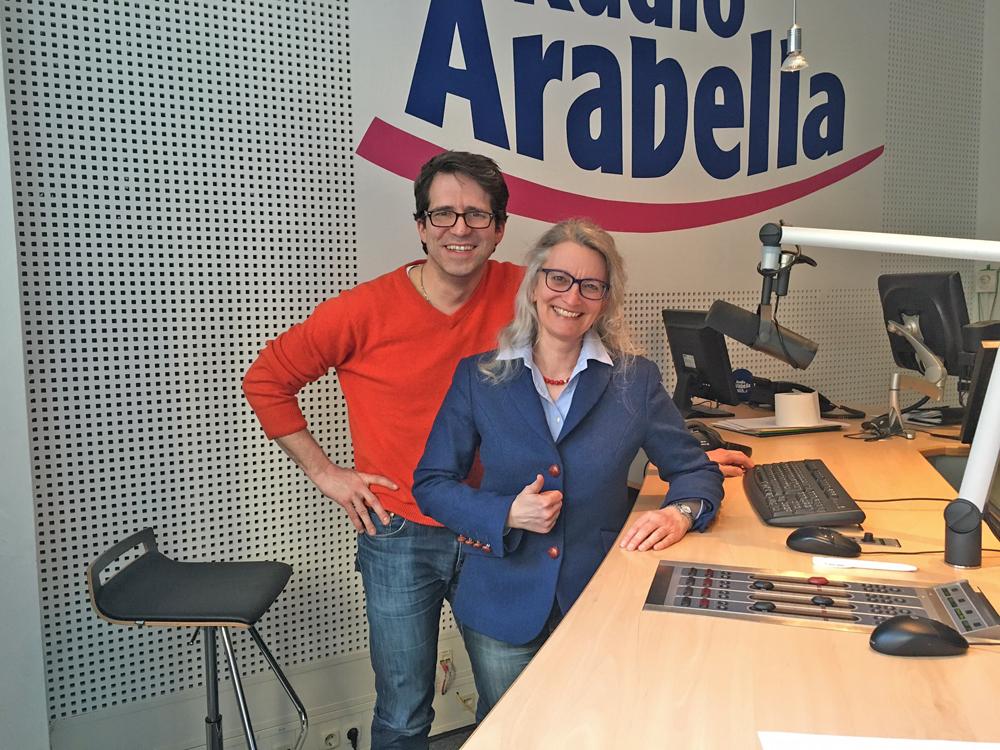2016 Interview bei Radio Arabella München