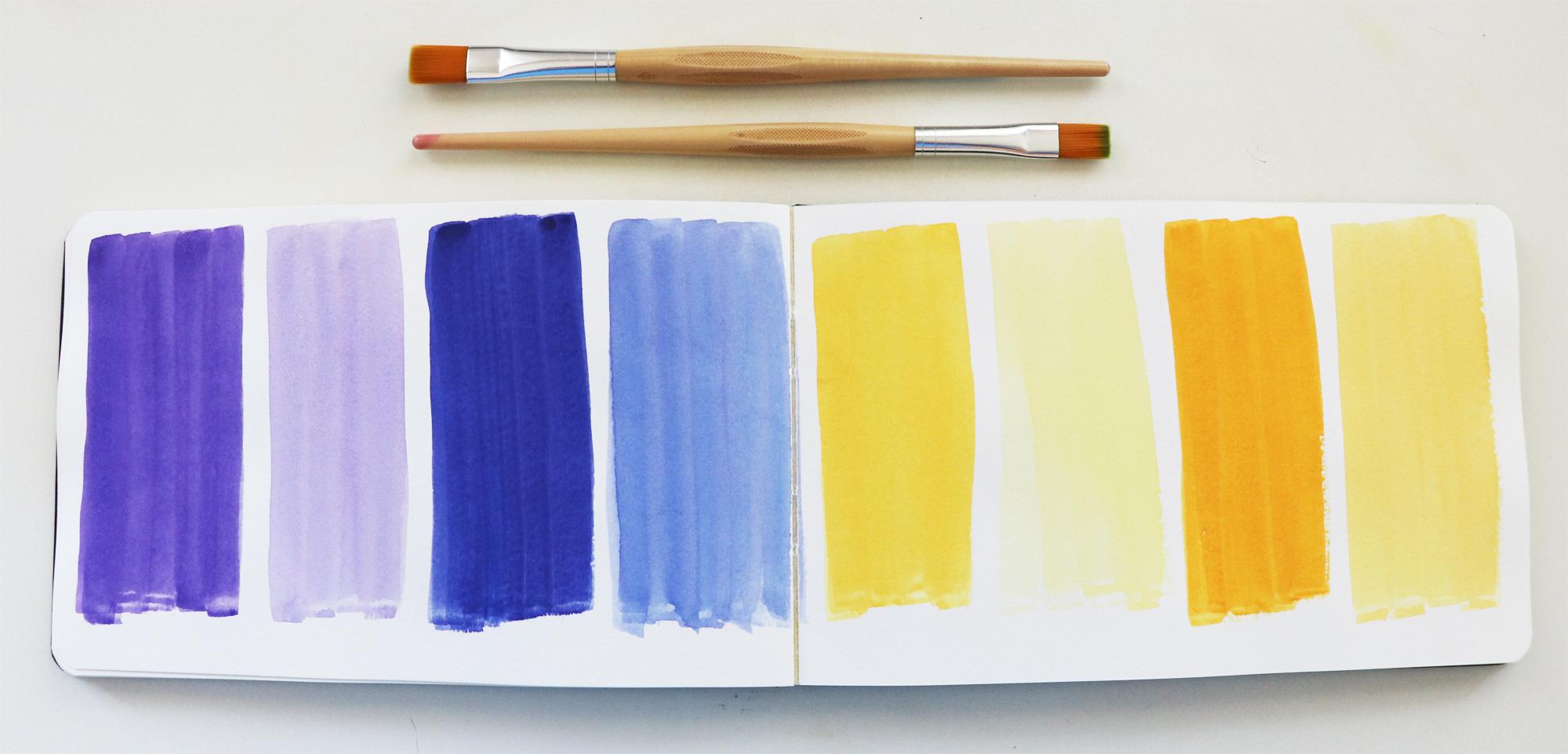 Farben-Challenge-Workbook-Ultramarinblau-Sonnengelb