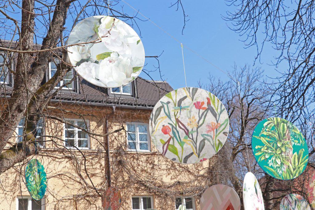abstrakte-Muster-Blumen-Stoffe