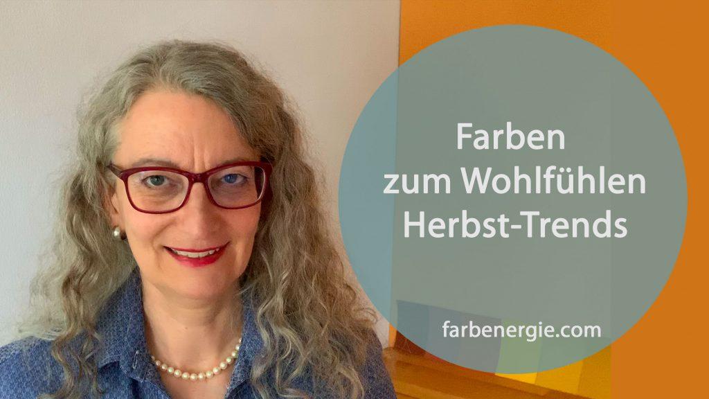 2019 Wohlfühlfarben-Herbsttrends