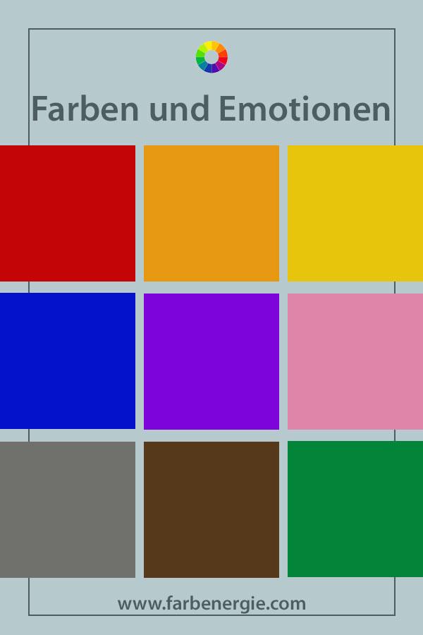 Farben Und Emotionen